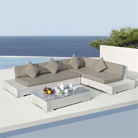 salon de jardin blanc salon de jardin maldives blanc taupe 5 places salon de jardin d 233 tente eminza