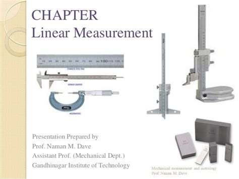 linear measurements