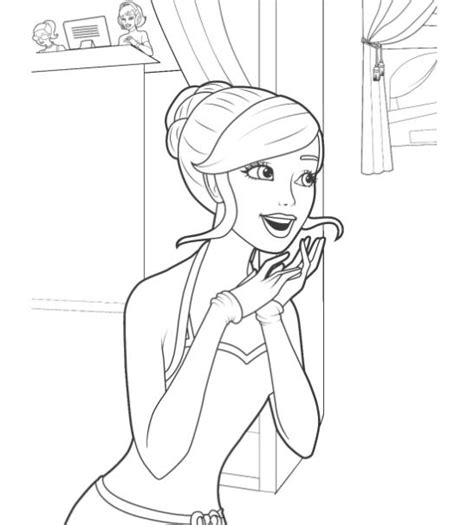 barbie coloring pages full size printable barbie coloring pages games gianfreda net 83112