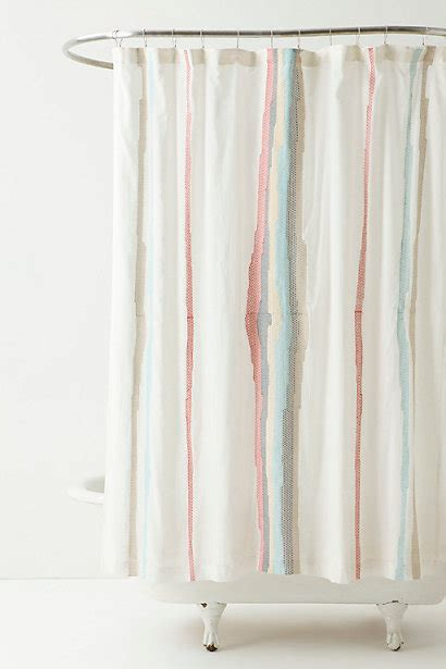 shower curtains anthropologie sechura shower curtain anthropologie com