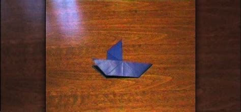 Easy Impressive Origami - how to fold a simple origami sailboat 171 origami