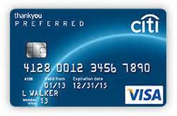 187 card 187 card citi thankyou preferred card