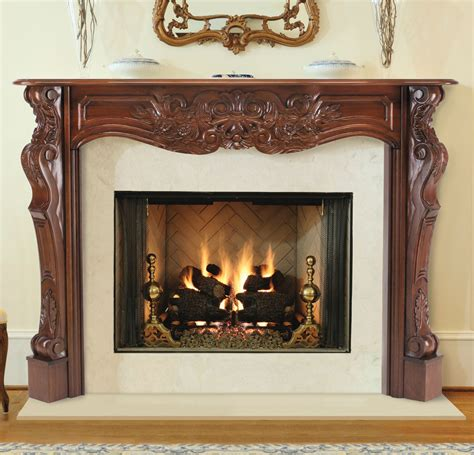 real wood fireplace pearl solid wood mantels