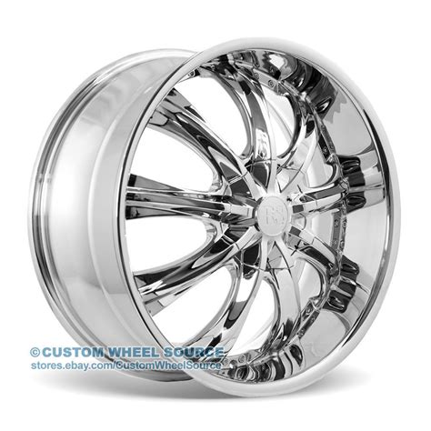 chrome lexus rims 20 quot redsport rsw33 chrome wheels fits infinity jaguar