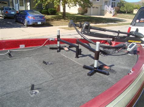 narrow boat umbrella holder double seat spider rigging ez t pole perch