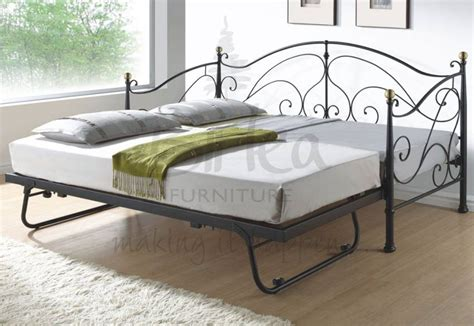 daybed with pull out bed birlea furniture milano metal daybed with underbed pull out guest bed with or