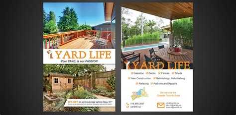 flyer design toronto landscaping flyer design in toronto flyerdesign ca