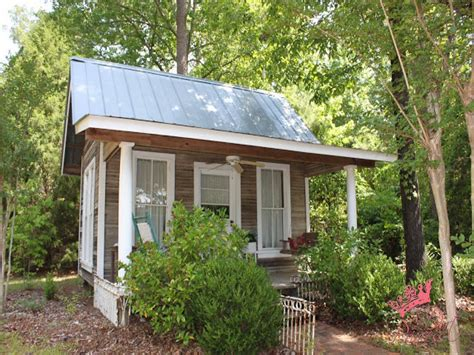 tiny romantic cottage house plan small backyard guest