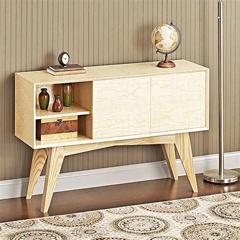 mid century modern credenza woodworking plan  wood