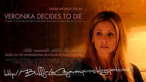 libro veronika decides to die ya esta on line el website de quot veronika decide morir quot la nueva pelicula de sarah michelle gellar