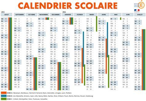 Dates Vacances été 2017 Calendrier Scolaire 2016 Image King