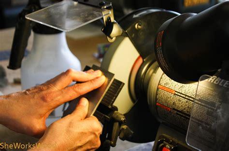 chisel sharpening jig bench grinder bench grinder sharpening jig
