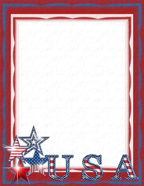 patriotic stationery printable patriotic stationery themes page 2