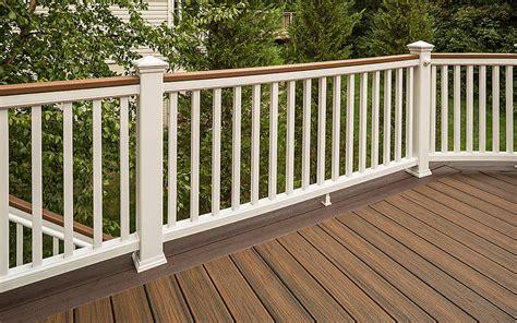 Wooden Soutern Grind trex transcend 174 composite deck railing trex