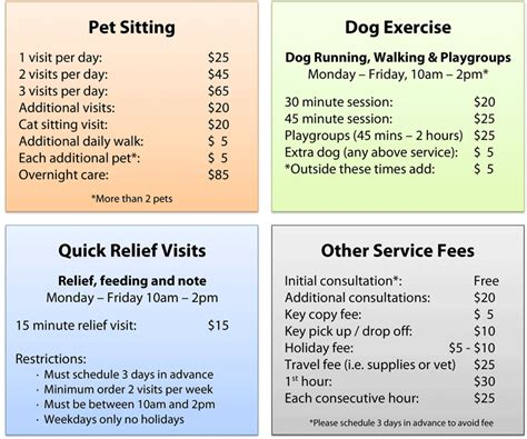 house sitting rates rates capek9cardio cape cod pet sitting dog walking rates