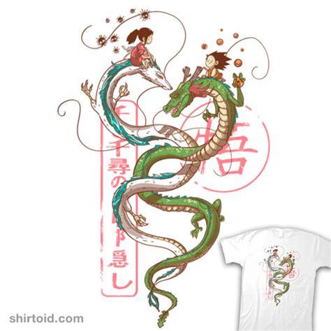 dancing dragon tattoo dragons shirtoid