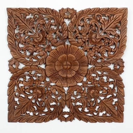 teak wood panels wooden wall displays unique carved
