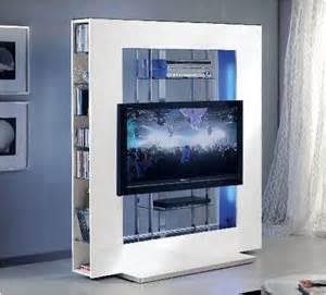 Led Tv Wall Panel Designs mesa panel tv luz led lacada blanca