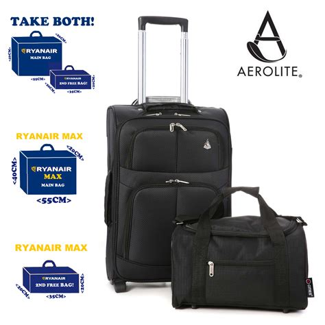 ryanair maximum 55x40x20cm 35x20x20cm luggage 2