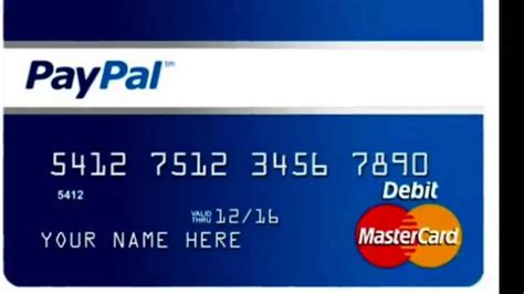 how to make bank card how to create open or setup a paypal account get 5