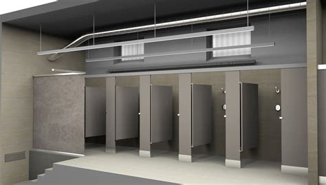 S Locker Room Shower by Ymca