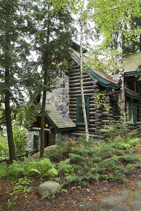 adirondack custom handcrafted log homes by maple island