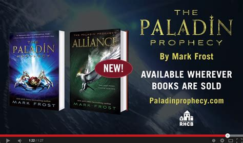 The Paladin Prophecy Books trailer the paladin prophecy by we are word nerds