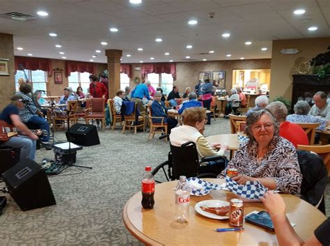 open house party mill creek senior living community open house attracted many new faces