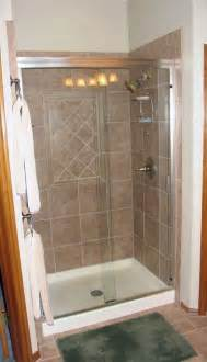 Prefab Shower Walls by Prefab Shower Stall Lowes Bathroom Ideas
