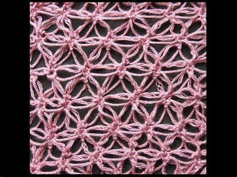 como aprender hacer punto salomon en crochet crochet punto salom 243 n variaci 243 n 3 recto youtube