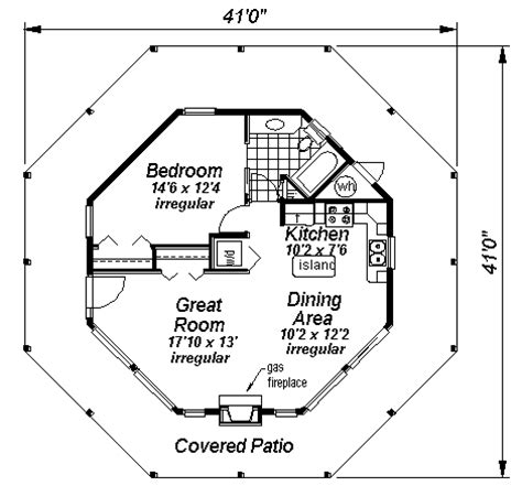 home and garden octagon style house plans