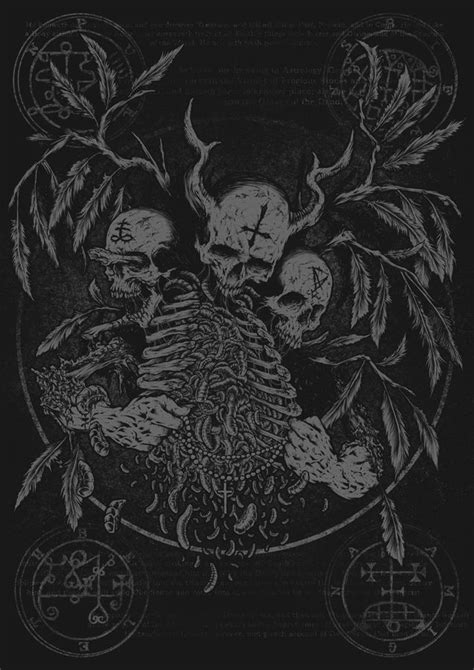 Satanic Ink my name is legion for we are many left path