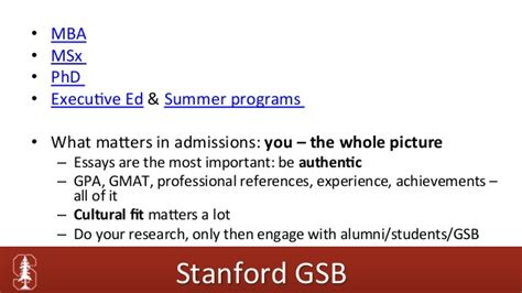 Ms Electrical Engineering Mba Stanford Requirements by Studia Stanford Jak Aplikować Na Stanford