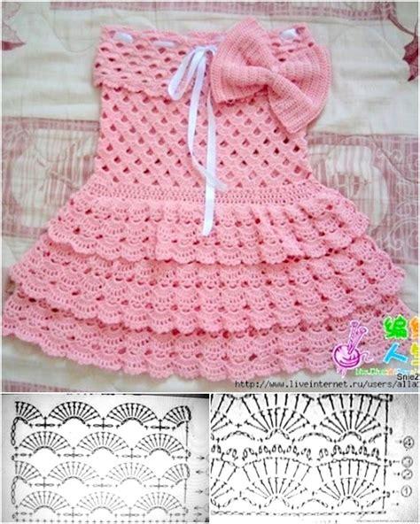 crochet pattern pink girl dress 16 patterns for cute crochet girls dresses
