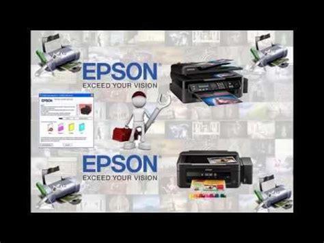epson l210 resetter youtube reset de esponjas de impresoras epson l110 l210 l300 l350