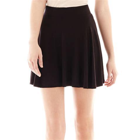jcpenney decree knit skater skirt shopstyle