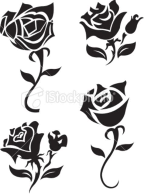 simple black rose tattoo tattoos designs black and