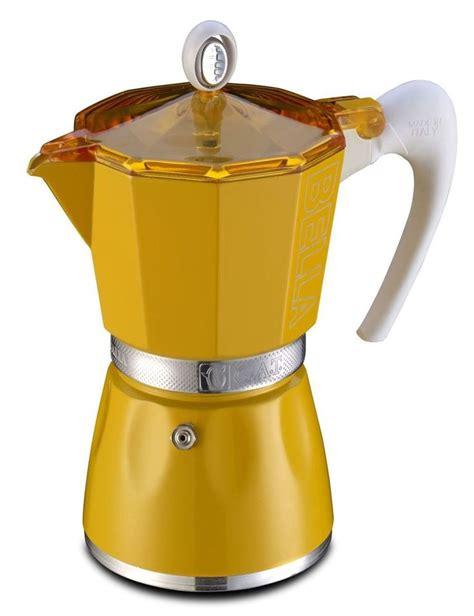 Murah Meriah Gat 1 Cup Yellow coffee moka pot cafettiera espresso italian espresso maker のおすすめ画像 727 件 コーヒー