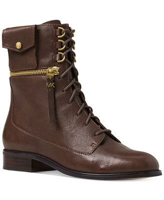 Michael Kors Zana Lace Up Booties   Boots   Shoes   Macy's
