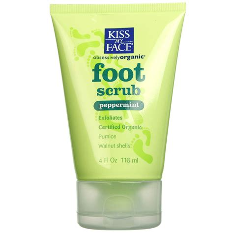 Foot Scrub my peppermint foot scrub 4 oz evitamins