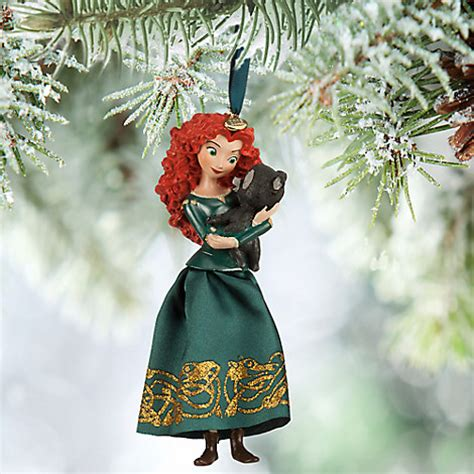 merida christmas ornament disney store 2015 brave merida cub ornament new in box ebay