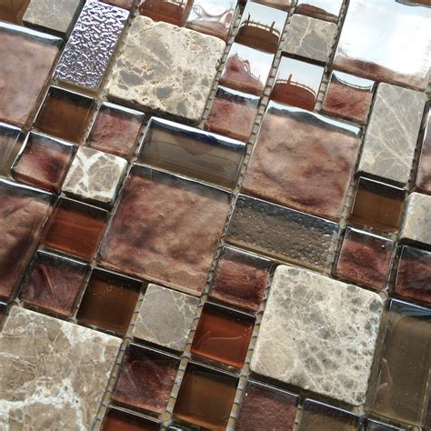 kitchen backsplash mosaic tiles burgundy red glass mosaic wall tile stone mosaic kitchen