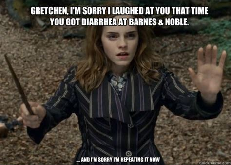 Gretchen Meme - gretchen i m sorry i laughed at you that time you got