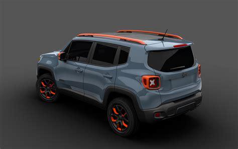 Jeep Remegade 2015 Jeep Renegade Receives Mopar Goodies For 2015 Detroit