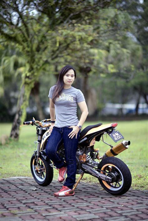 Paket Go Bikers Naik Motor Sepeda By 1 lizawaty motoris wanita pemberani dari ipoh