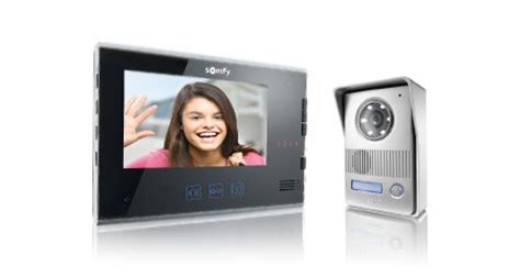 Visiophone Somfy V400 2895 by Visiophone Une Gamme Compl 232 Te De Portiers Vid 233 O Pour