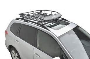 Rafferty Subaru Parts 2016 Subaru Forester Thule Heavy Duty Roof Cargo Basket