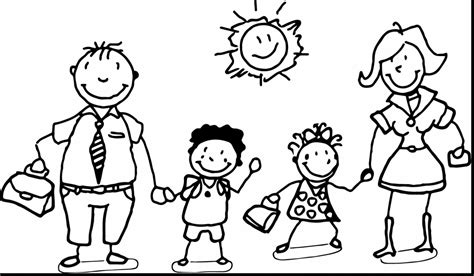 loving family coloring page fun learn free worksheets for kid