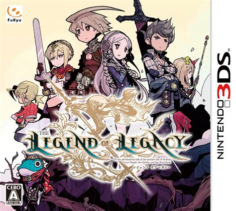 Kaset 3ds The Legend Of Legacy The Legend Of Legacy Japanese Box Gematsu