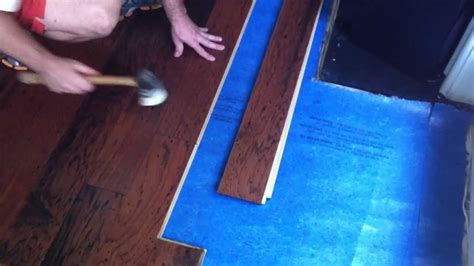 Hardwood Floor Installation Tips How To Install Engineered Hardwood Flooring Lock And Fold